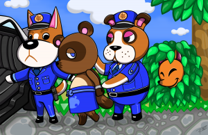 Animal Crossing Tax Evasion by Rio McCarthy