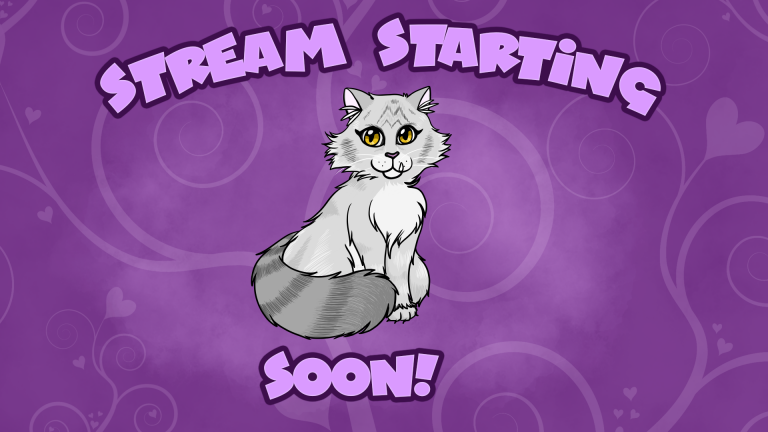 Twitch Starting Soon Screen by Rio McCarthy